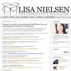 Lisa Nielsen: The Innovative Educator: January 2014