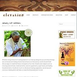 January 2014 webinars