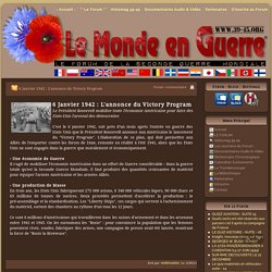 06/01/1942 Annonce du Victory Program