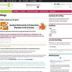janvier 2014 : Idées reçues sur le sport