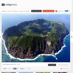 japan aogashima volcano photo | one big photo