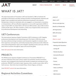 Japan Association of Translators (JAT)