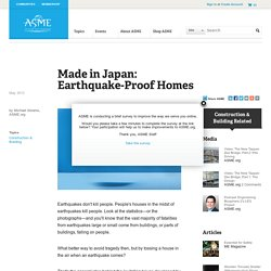 Made in Japan EarthquakeProof Homes