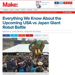 USA vs Japan Giant Robot Battle Is Imminent