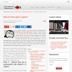 Resources about travels and life in Japan