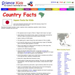 Fun Japan Facts for Kids - Interesting Information about Japan