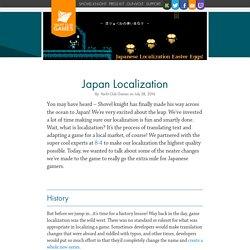 Japan Localization