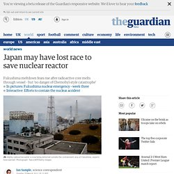 Japan may have lost race to save nuclear reactor