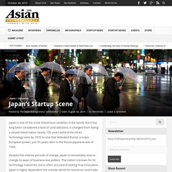 Japan's Startup Scene - The Asian Entrepreneur