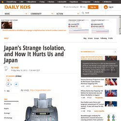 Japan's Strange Isolation, and How It Hurts Us and Japan