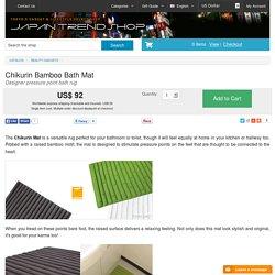 Chikurin Bamboo Bath Mat