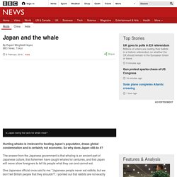 Japan and the whale