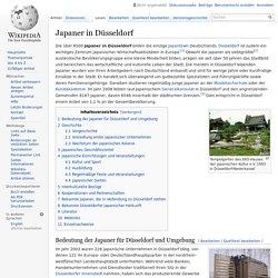 Japaner in Düsseldorf