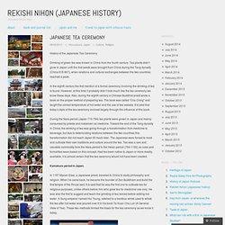Rekishi Nihon (Japanese history)