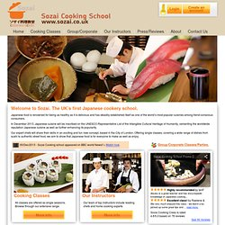 Sozai Cooking School