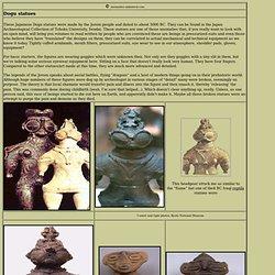 Japanese dogu statues