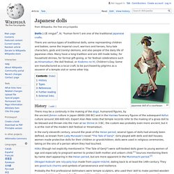Japanese dolls - Wikipedia