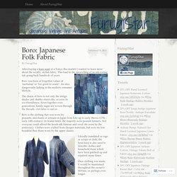 Boro: Japanese Folk Fabric