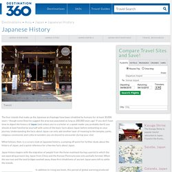 Japanese History - Facts About Japan - Ancient Japan