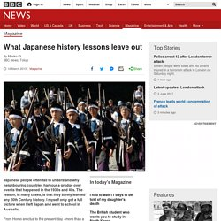 What Japanese history lessons leave out