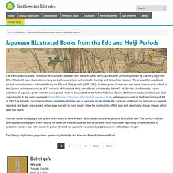 Japanese Illustrated Books from the Edo and Meiji Periods