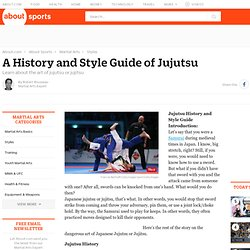 Japanese Jujutsu - A History and Style Guide