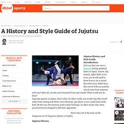 Japanese Jujutsu - A History and Style Guide