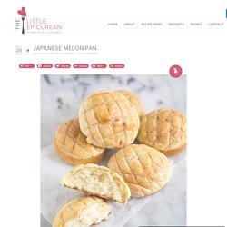 Japanese Melon Pan- The Little Epicurean