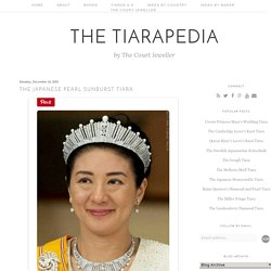 The Japanese Pearl Sunburst Tiara