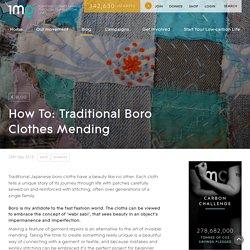How To Do Japanese Boro Stitching