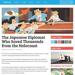 The Japanese Diplomat Who Saved Thousands from the Holocaust