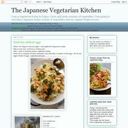 The Japanese Vegetarian Kitchen: 05/2011