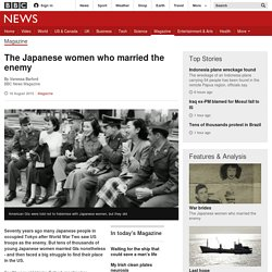 The Japanese women who married the enemy