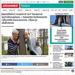 Japanilaiset saapuvat nyt Suomeen metsäterapiaan - Matkat - Ilta-Sanomat