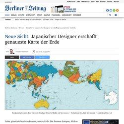 Neue Sicht: Japanischer Designer erschafft genaueste Karte der Erde