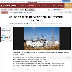 Conjoncture : Le Japon face au casse-tête de l'énergie nucléaire