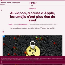 Au Japon, à cause d'Apple, les emojis n'ont plus rien de cool