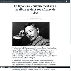 Au Japon, un écrivain mort il y a un siècle revient sous forme de robot