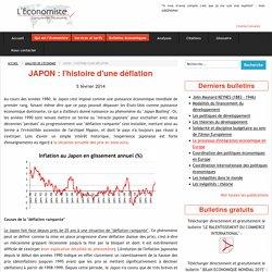 JAPON : l'histoire d'une déflation