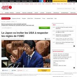 Le Japon va inviter les USA à respecter les règles de l'OMC