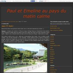 Japon / 일본 - Kyoto 4 - Paul et Emeline au pays du matin calme