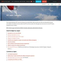 PVT Japon - Liens utiles - PVTistes.net