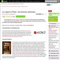 Le Japon à Paris: les bonnes adresses