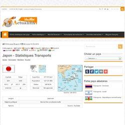 Japon - Statistiques Transports