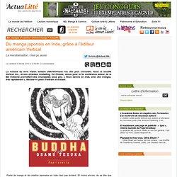 Du manga japonais en Inde, grâce à l'éditeur américain Vertical