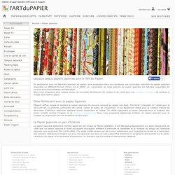Papier Japonais, collection papier washi, yuzen et chyogami