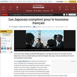 Les Japonais comptent pour le tourisme français