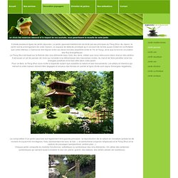 Jardin japonais - Decoration paysagere, creation de jardin à thèmes