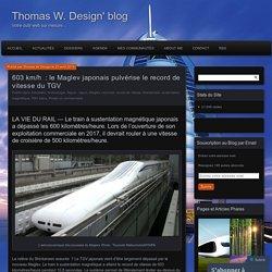 603 km/h : le Maglev japonais pulvérise le record de vitesse du TGV