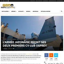 L'armée japonaise reçoit ses deux premiers CV-22B Osprey. - avionslegendaires.net